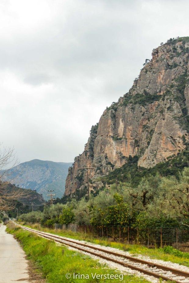 Diakopto gorge