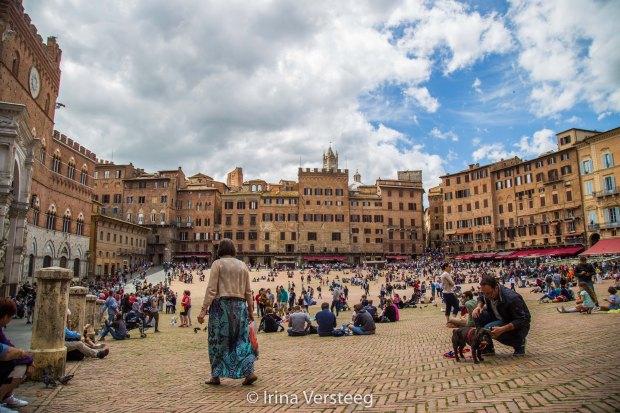 Crowded Siena